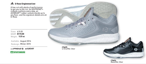 7479deb395a adidas D Rose Englewood Low 3.0 - WearTesters