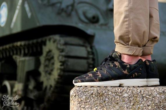 15ba499af Adidas Originals ZX Flux  Camo  - Detailed Look 3 - WearTesters