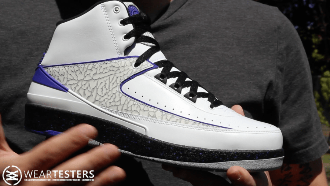 5bb59ac791b2d0 Air Jordan 2 Retro  Concord  - Detailed Look   Review - WearTesters