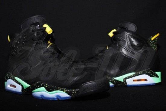 339da32ce31887 Air Jordan 6 – Black – Green – Yellow - WearTesters