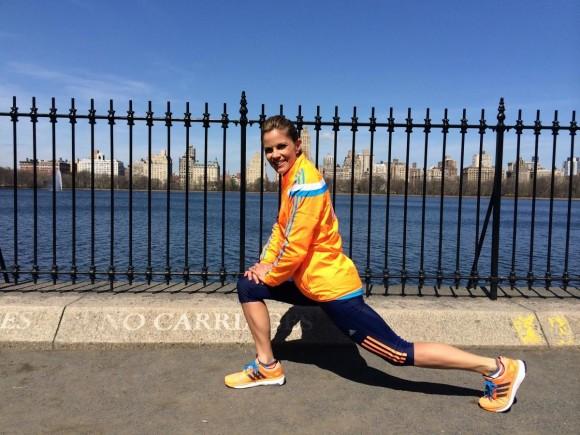 Natalie Morales to Run Boston Marathon in Custom adidas Energy Boost ... 05db3e63c4
