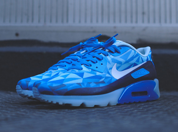 9ce59f6b24 Nike Air Max 90 ICE 'Barely Blue' 2 - WearTesters