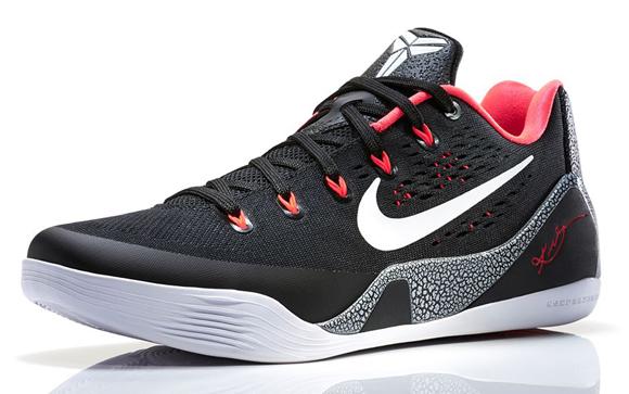 942c271eecfe Nike Kobe 9 EM Black  White - Laser Crimson - Final Look - WearTesters