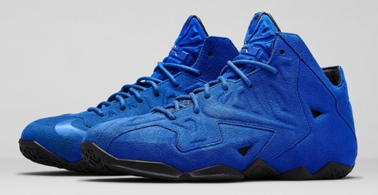 ed22380890d Nike LeBron 11 EXT  Blue Suede  – Release Date - WearTesters