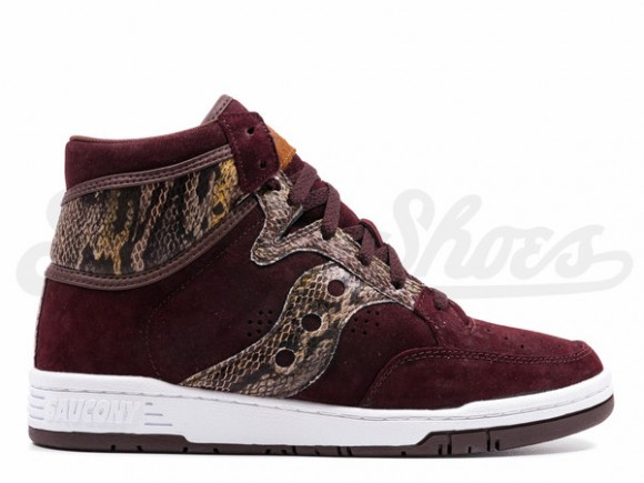 Packer Shoes X Saucony Hangtime Hi  Brown Snake  - Now Available ... 92a60733a9