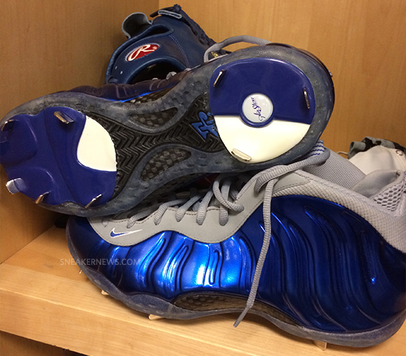 3f0fc67b4c978 Custom Nike Foamposite Baseball Cleats - WearTesters