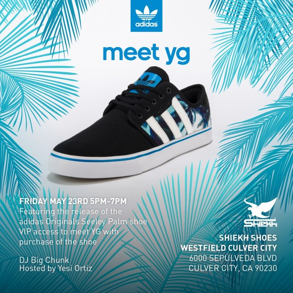 adidas and Shiekh Shoe Exclusive Seeley Palm Sneaker Event Featuring ... 223162c55b6f2