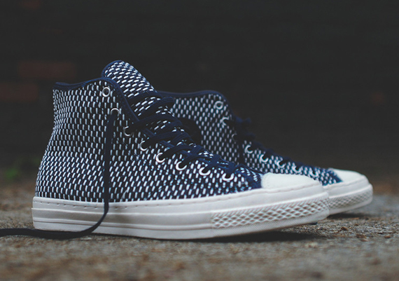 Converse Chuck Taylor All Star Hi PRM - Navy - WearTesters cb10db1ac