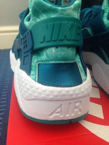 low priced ee730 4ff7b Nike Air Huarache Green Abyss  Turbo Green-5
