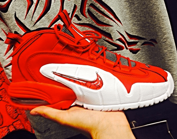 6fd3bc60daf2 Nike Air Max Penny 1 Red  White - First Look - WearTesters