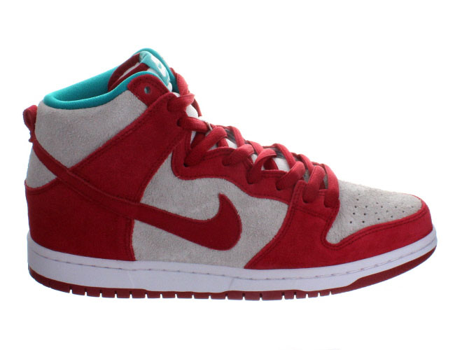 online store a3119 7a679 Nike Dunk High Pro SB Gym Red/ White - Available Now ...
