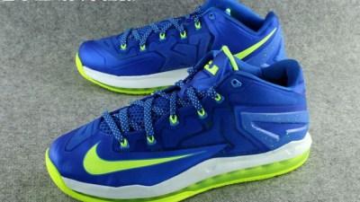 5b3d7c934905 Nike LeBron 11 Low  Sprite  – Detailed Look