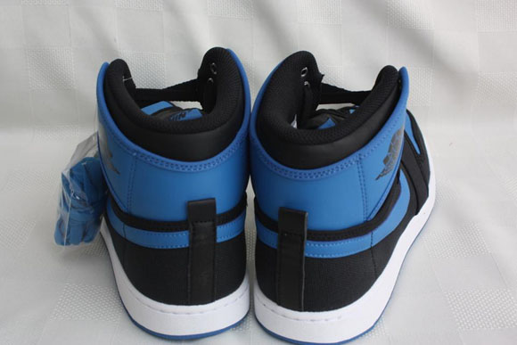 Air Jordan 1 AJKO Retro Black Sport Blue - Detailed Look 5