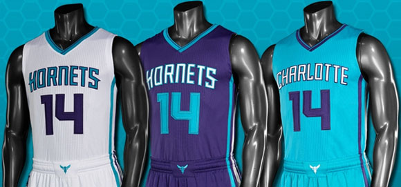 Charlotte Hornets Unveil New Uniforms 1