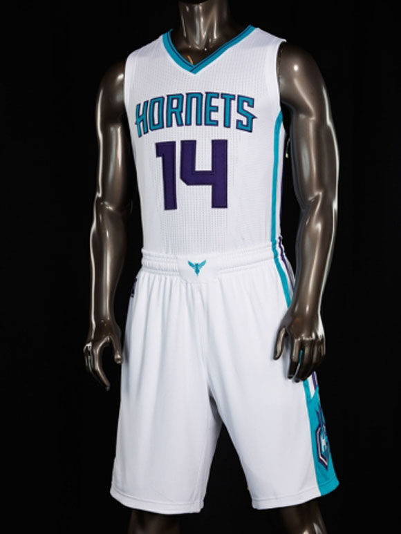 Charlotte Hornets Unveil New Uniforms 2