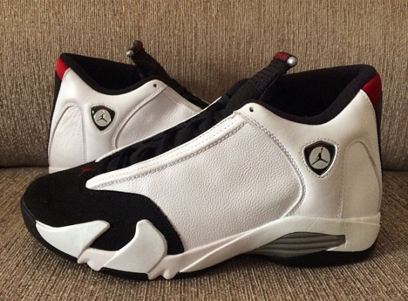 New Set of Images For The Air Jordan 14 Retro  Black Toe  - WearTesters 4bc24c70f3e2