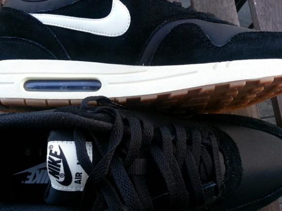 new styles 9d914 9d17a ... Nike Air Max 1 Black Sail-Gum- First Look 2 ...