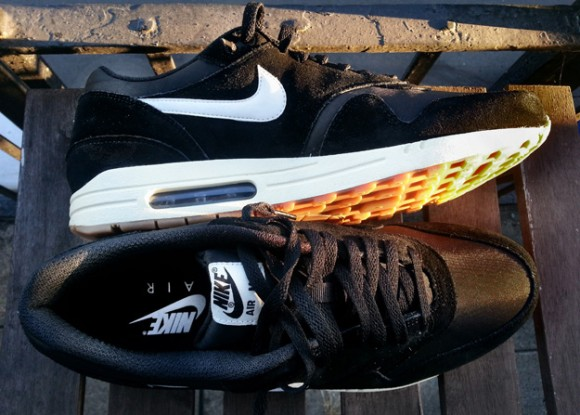 wholesale dealer 239ba de5f0 ... Nike Air Max 1 Black Sail-Gum- First Look 4