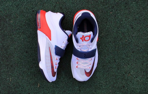 455015de8ac3 Nike KD VII  Independence Day  - Up Close   Personal 4 - WearTesters