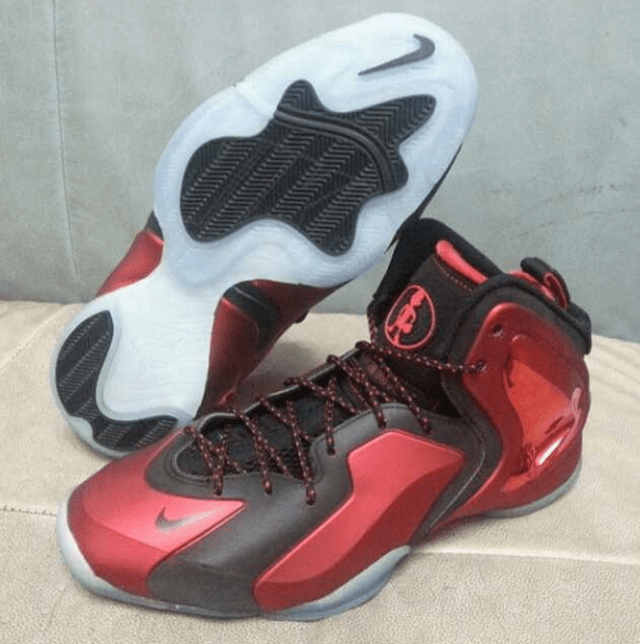 new photos 04e51 4978b Nike Lil Penny Posite RedBlack - First Look-4