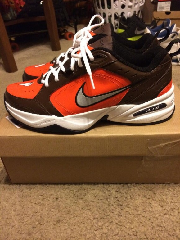 92603e0ea97867 Nike Air Monarch IV  Johnny Manziel  Custom 2 - WearTesters