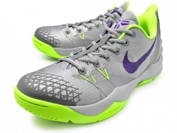 buy online 76258 7fa0b Nike Zoom Kobe Venomenon 4 - Wolf Grey/Court Purple/Volt - WearTesters