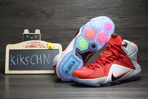 c7da770d1930 Nike LeBron 12  Lion Heart  - Detailed Look 4 - WearTesters
