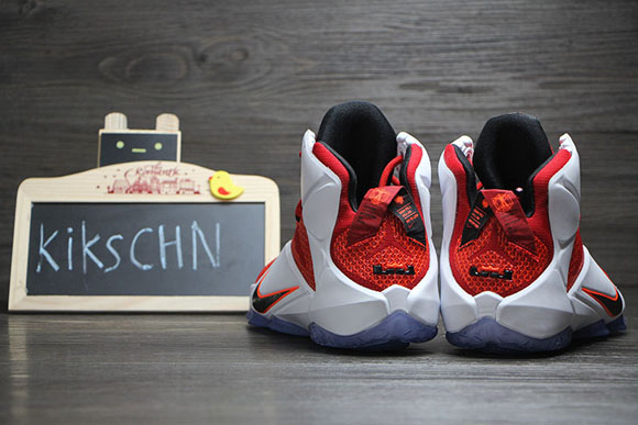 free shipping a2b36 4fce4 Nike LeBron 12  Lion Heart  – Detailed Look 6