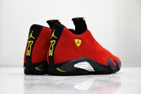 ece1c3fd561553 Air Jordan 14  Ferrari  - U.S. Release Date