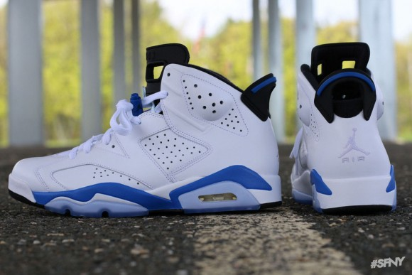 bf4b989fa23 Air Jordan 6 Retro  Sport Blue  - Another Look + Release Info ...