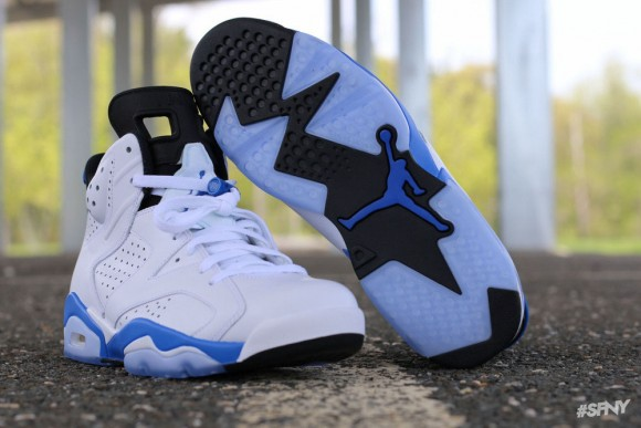 91e0409f89fd Air Jordan 6 Retro  Sport Blue  - Another Look + Release Info ...
