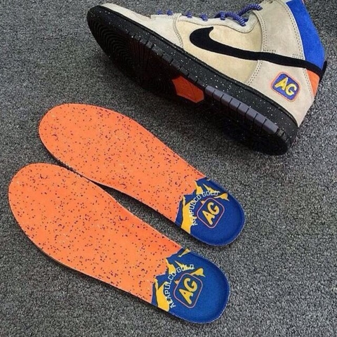 los angeles eda34 19923 Acapulco Gold x Nike SB Dunk High Mowabb - First Look