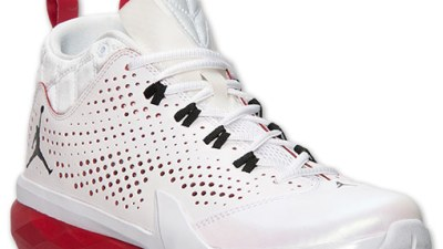 online store 90c84 b58e9 Jordan Flight Time 14.5 White  Gym Red- Black – Available Now
