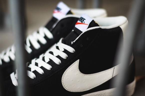 new arrivals dfe55 f079d ... Nike Blazer Mid Premium Vintage Black White 4 ...