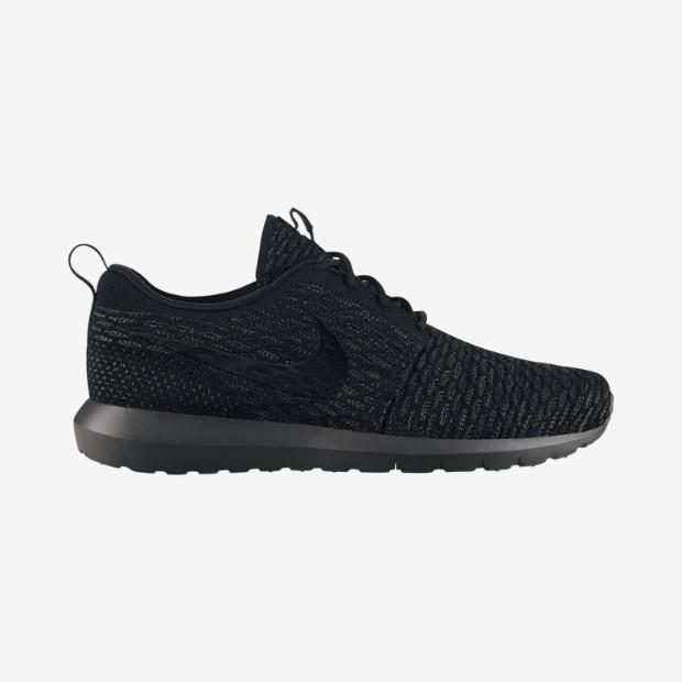 9389923cb8452 Nike Flyknit Roshe Run  Blackout     Fireberry  - Available Now ...