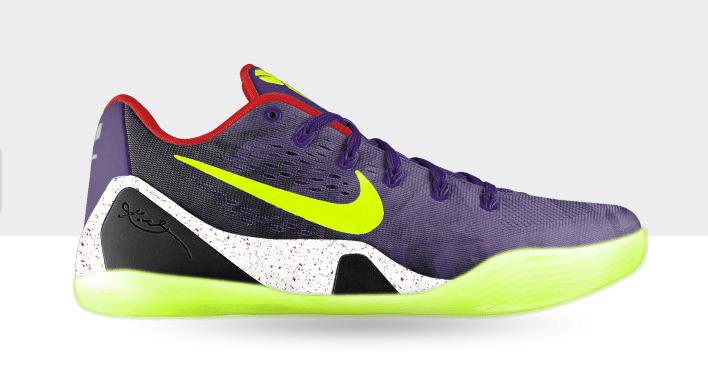 ... low priced e7993 52d88 Nike Kobe 9 EM iD Fractal Print - Now  Available-1 ... cb942b9f7