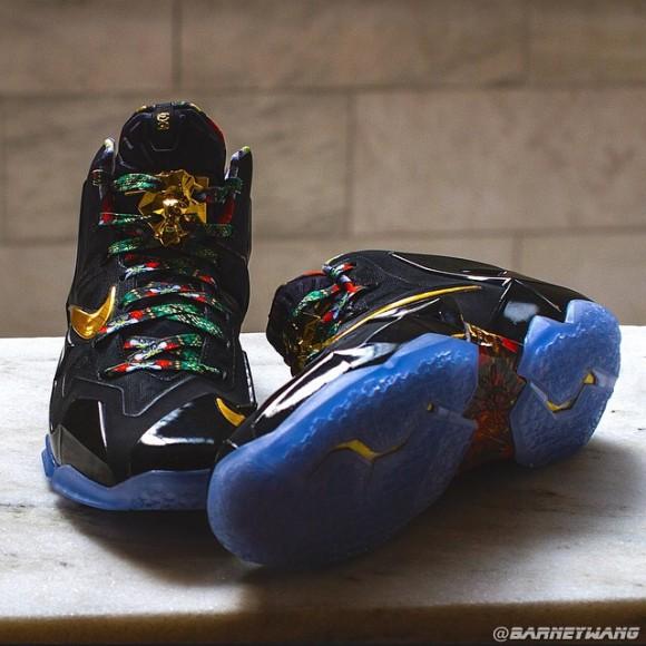 Nike LeBron 11 'Watch The Throne' Sample