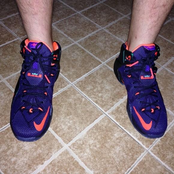 Nike LeBron 12 'Instinct' - On-Feet Look
