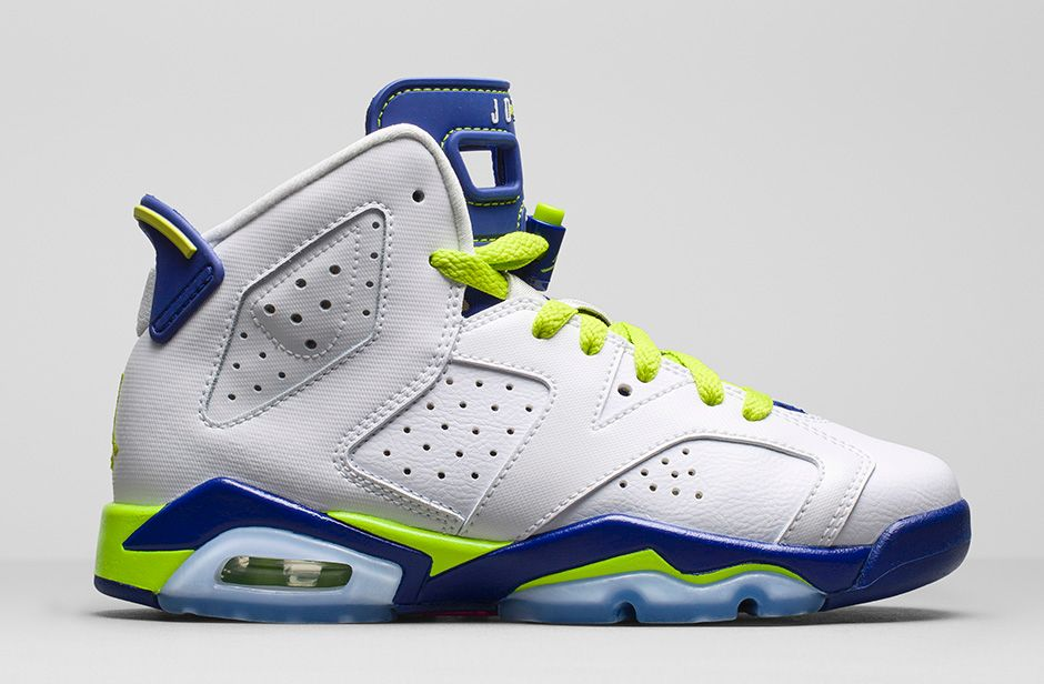 Air Jordan 6 Retro  Seahawks  GS - Available Now - WearTesters a8dfc8906968