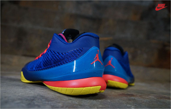 new style a2edf fc695 Jordan CP3.VIII Deep Royal Infrared 23 - Up Close   Personal 2