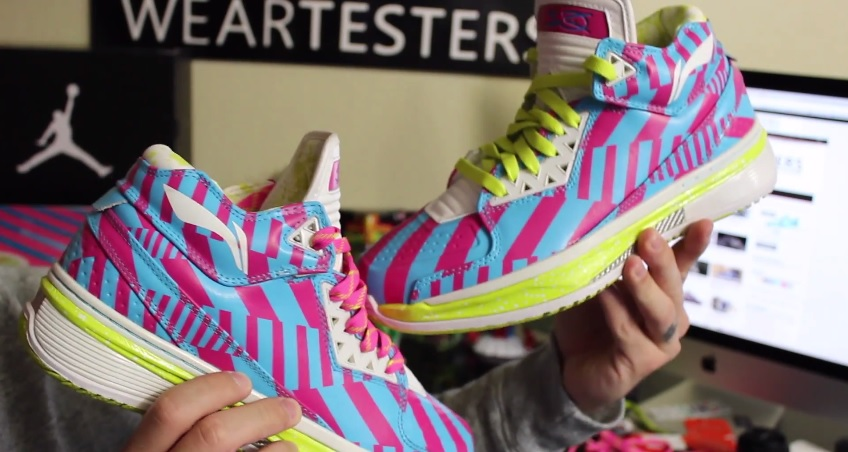 check out 84b63 4e103 Li-Ning Way of Wade 2  Raz Fuego  - Detailed Look   Review - WearTesters