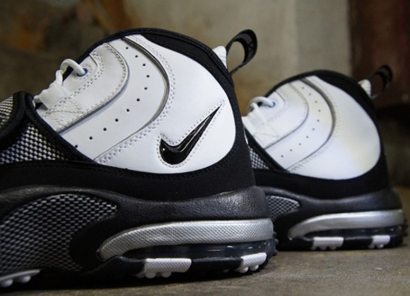 9d4f504c1b23 Nike-Air-Max-Pro-Streak-White-Black-Silver-5 - WearTesters