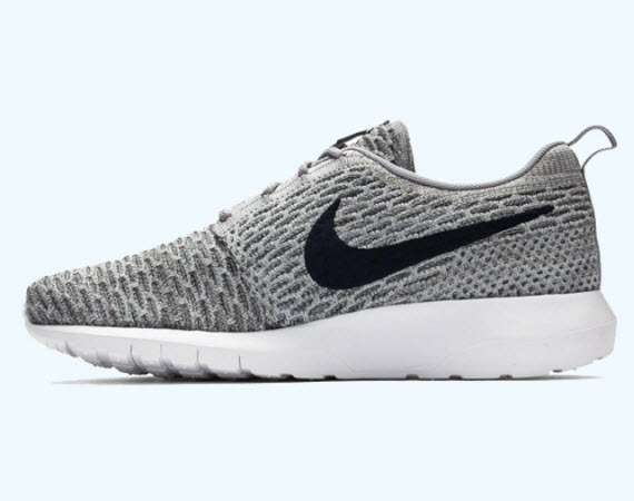 4c6a14bab1d6 Nike Flyknit Roshe Run  Wolf Grey  - WearTesters