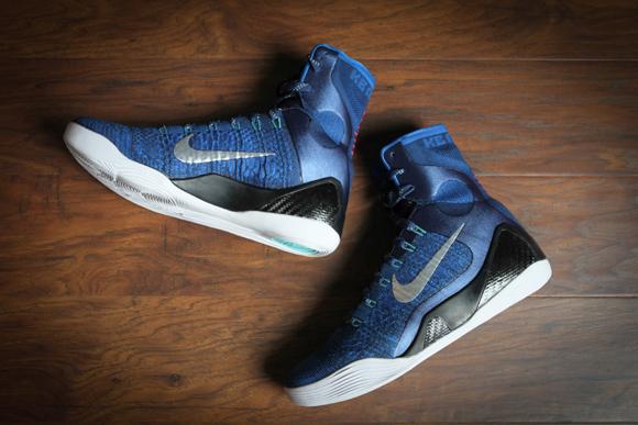 more photos bf282 f682b ... Nike Kobe 9 Elite  Brave Blue  - Beauty ...