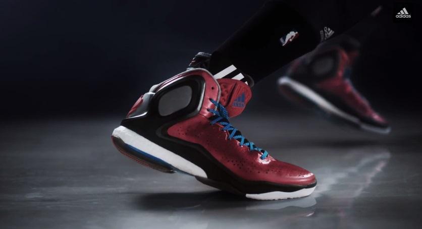 online store 2c563 a1e28 VIDEO adidas D Rose 5 BOOST feat. Derrick Rose - WearTesters