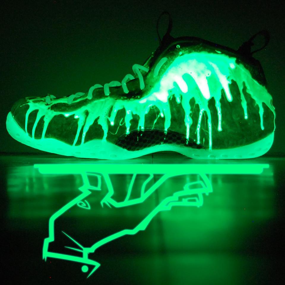 best sneakers 9e6e6 6a7d2 Nike Air Foamposite One  I ve Been Slimed  Custom