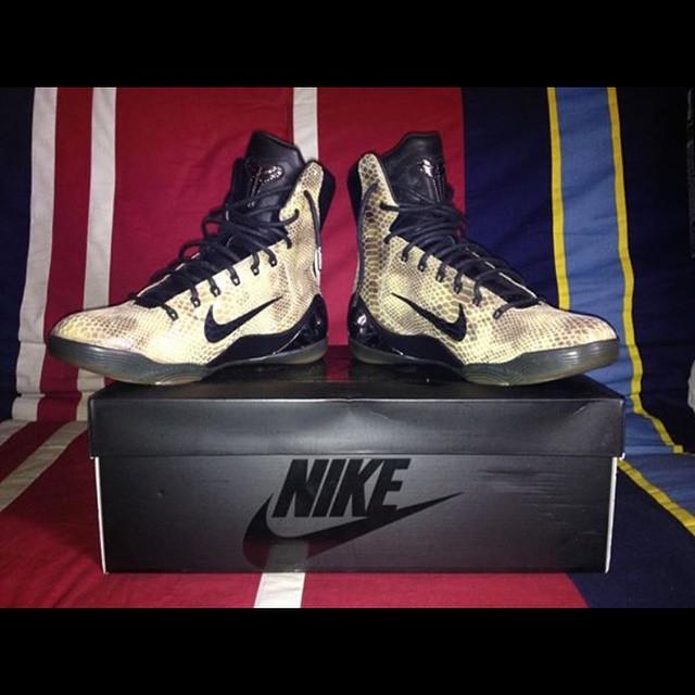 148d336b48b1 Nike Kobe 9 EXT  Snakeskin  - Another Look - WearTesters