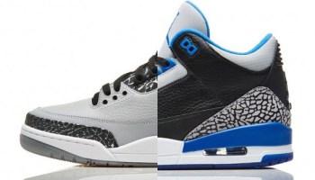 pretty nice 494b7 cba8a Air Jordan Retro 3 'Sport Blue' - More Images - WearTesters