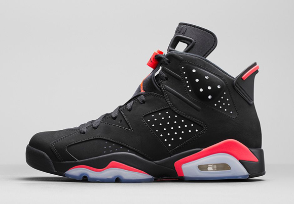 5f722fe4fa3ebf Air Jordan 6 Retro Black Infrared23 - Official Look + Release Info 2 ...