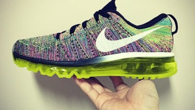 the best attitude 7d7d0 751be However Nike Flyknit Air Max Multicolor – Alternative Look sneakers 4fab8  d688c ...